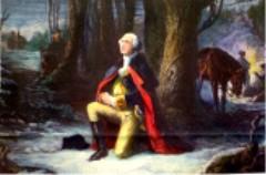 George_Washington valley forge